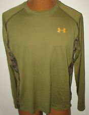 Under Armour - New - Medium - Long Sleeves Pullover Top - Camouflage Trim