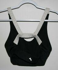 Joy Lab Target Womens Black White Size Large Sports Active Gym Bra Padded Cute