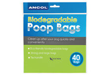 Ancol Dog Poop Bio-degradable 400 Waste Bags 10x40