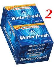 WRIGLEY'S WINTERFRESH GUM 20- 15 Stick Packs= 300 Sticks FRESH
