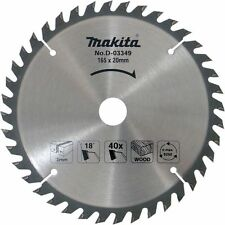 NEW Makita D-03349 165x20mm 40T Circular Saw Blade D-03349