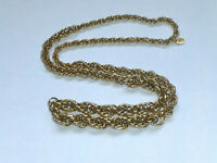 Vintage Signed Vendome Chunky Gold tone Chain/Necklace