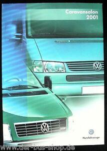 VW Bus T4 - Pressemappe - Caravansalon 2001