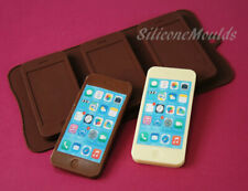 3 cell Mobile Smart Phone Chocolate / Candy Bar Silicone Baking Mould Iphone 5