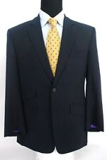 Richard James Savile Row 2Btn Navy Blue Herringbone Suit Jacket Blazer 40R