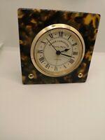 Vintage Roger Lascelles Alarm Clock Rare Art Deco is 30s Style desk ornament