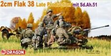 Dragon 6546 1/35th Scale 2cm Flak 38 Late Production plastic model kit
