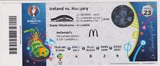 Ticket Islande Iceland - Hongrie Hungary Hungaria 18/06/2016 Euro @ Marseille