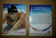 2016 Topps Olympics base card #67 Nathan Adrian, swimming