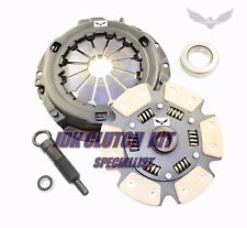 JDK 80-82 TOYOTA COROLLA 1800 1.8L OHV STAGE3 CERAMIC 6 PUCK CLUTCH KIT AE86