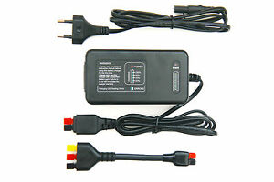 Charger for powakaddy lithium li ion battery/plug'n' play ™ - adapter