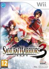 Samurai Warriors 3 NINTENDO WII  NUOVO SIGILLATO EDIZIONE ITALIANA