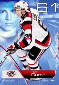 2008-09 Ottawa 67s #LE1 Tyler Cuma