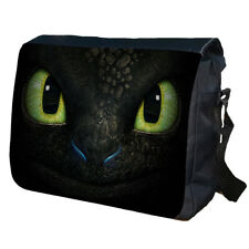 Toothless Dragon School College Personalised Messenger Bag