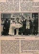 "JOE BRIDGE "" THEATRE AMBULANT DU BON PETIT DIABLE "" ADP 1932"