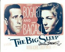 Lauren Bacall Signed 8x10 Photo The Big Sleep Humphrey Bogart Jsa Coa