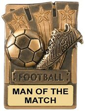 MAN OF THE MATCH FOOTBALL FRIDGE MAGNET 8CM RK005