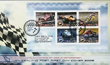 New Zealand Stamps, First Day Cover, NZ Champions of World Sport, dated 4/2/2009