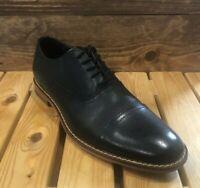 Floyd Lotte Black Leather - Men's Casual Dress Shoes Size 9