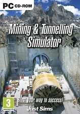 Mining and Tunnelling Simulator (PC CD) BRAND NEW SEALED