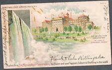 Original 1910's Niagara Falls N.Y. Shredded Wheat Advertising Postcard