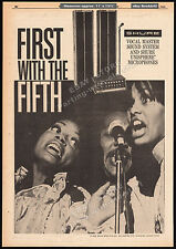 THE 5th DIMENSiON / SHURE Brothers__Original 1969 Trade AD promo / poster__Fifth