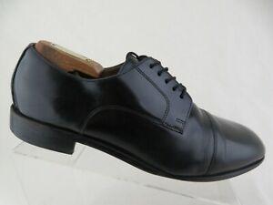 FLORSHEIM Black Sz 10 D Men Cap-Toe Derby Dress Shoes