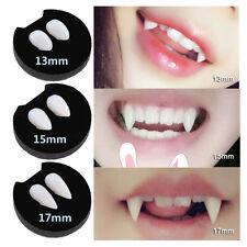 2 PCS Vampire Fangs Teeth Tooth Cap Fright Night Werewolf Fangs Halloween Scary