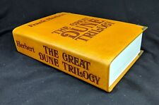THE GREAT DUNE TRILOGY BY FRANK HERBERT LEATHER BOUND