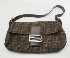 Authentic Fendi Zucca baguette bag purse