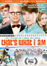 DVD-That`s What I Am /DVD  (UK IMPORT)  DVD NEW