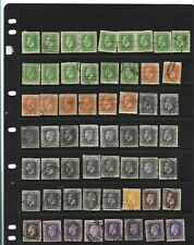 New Zealand 1912-1935 King George V 1/2d to 1/-  used about 100 mixed condition.