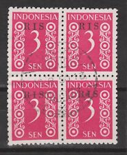Indonesie Indonesie 44 RIS sheet CANCEL DJAKARTA 1950 R.I.S Serikat