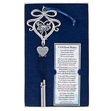 """A Gift From Heaven Memorial Wind Chime, 9"""" Long with Poem"""