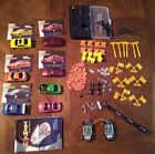 Vintage Radio Shack Zip Zaps Cars & Accessories Lot (7 Car Shells and More)