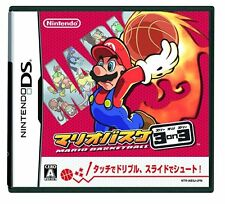 Used Nintendo DS Mario Basket 3 on 3 / Mario Hoops 3 on 3 Japan Import