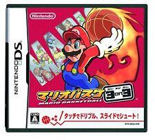 Used Nintendo DS Mario Basket 3 on 3 / Mario Hoops 3 on 3 Japan Import