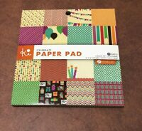 """Lawn Fawn 6/""""x6/"""" Printed Cardstock Pack  PERFECTLY PLAID CHILL ~36ct  ~LF1521"""