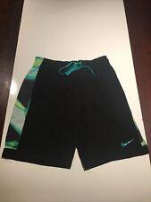Nike Mens Swim Trunks Size Medium Lined Pockets Drawstring Multicolor