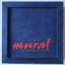 CD Jean-Louis Murat - Coffret promo en bois bleu incluant 2 CD promo RARE