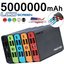 New listing 5000000mAh 4 Usb Backup External Battery Power Bank Pack Charger for Cell Phone
