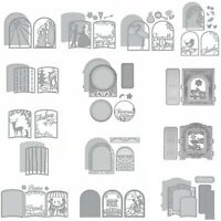 Display Window Frame Album Cutting Dies Scrpabooking DIY Craft Stencil Embossing