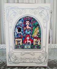 Disney Loungefly Princess Stained Glass Shoulder Bag Clutch Ivory NWT