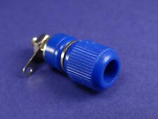 Einbau Buchse für Bananenstecker-Laborstecker 4mm Blau (EB07)