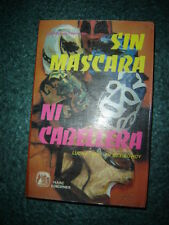 SIN MASCARA NI CABELLERA OLD BOOK LUCHA LIBRE wrestling