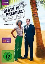 4 DVDs *  DEATH IN PARADISE - STAFFEL / SEASON 1 - Ben Miller  # NEU OVP &