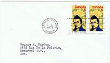 Canada #539(1) 1971 6 cent Louis Joseph Papineau FDC CV$2.00