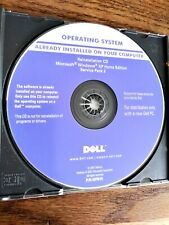 Dell Reinstallation DVD Windows XP Home Edition Service Pack 2 Operating System