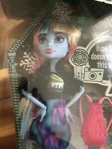 Monster High Doll - Abbey Bominable - NIB - 2012 - Picture Day