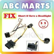 99-03 For Benz E320 E430 W210 Headlight Wire Wiring Harness Connector Kit L B360